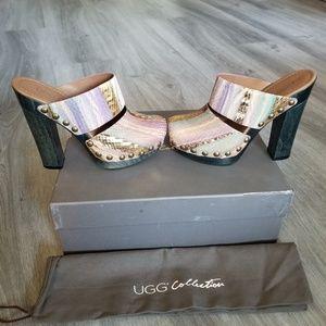 UGG  Amadora Heels.